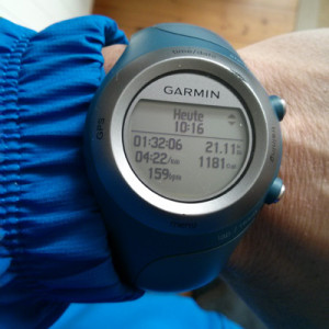 Halbmarathon beim Travelauf 2015