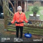 Langer Lauf im Dauerregen